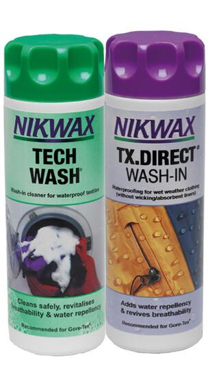 VAUDE Nikwax Tech Wash + TX Direct 2x300ml